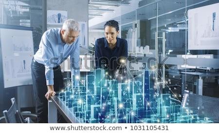 Virtual model room Stock photo © experimental