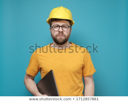 A suspicious-looking engineer Stock photo © photography33