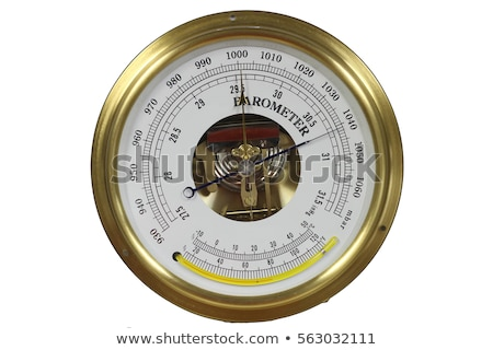 old russian barometer fragment Stock photo © Mikko