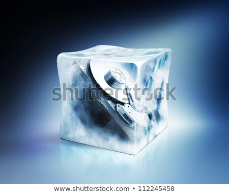 frozen hard disk Stock photo © drizzd