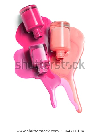 Group of bright nail polishes Stock photo © Discovod