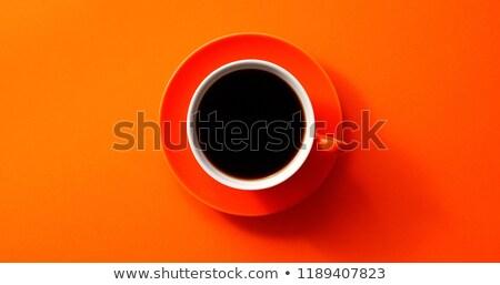 Black ceramic cup stock photo © snyfer