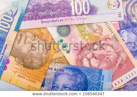 различный деньги ЮАР монетами законопроект Сток-фото © CaptureLight