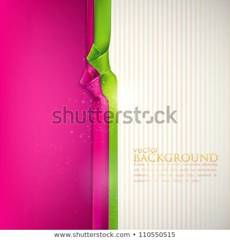 Rosa verde raso textiles fondo Foto stock © Nneirda