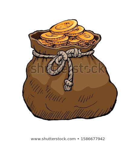 hand full of golden coins stock photo © stevanovicigor