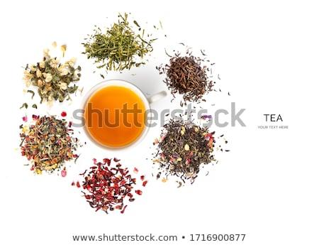 natural tea plants stock photo © jonnysek