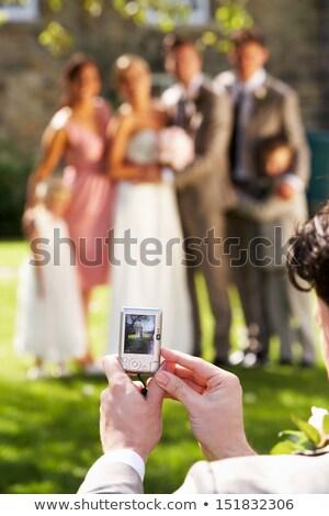 гость фото вечеринка семьи Сток-фото © monkey_business