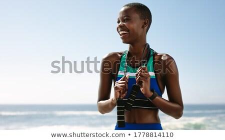 Female outdoors Stock photo © vanessavr