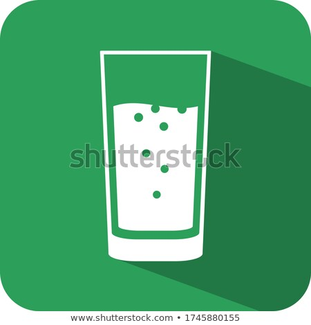 glass goblet with fresh sparkling water Stock photo © LoopAll