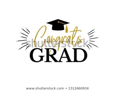 Congrats grad! Stock photo © elvinstar