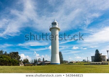 Yamba lighthouse - Australia Stock photo © jeayesy