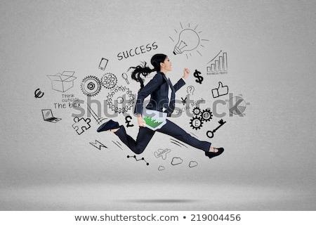 carreira · crise · problema · à · frente · negócio · empresário - foto stock © lightsource