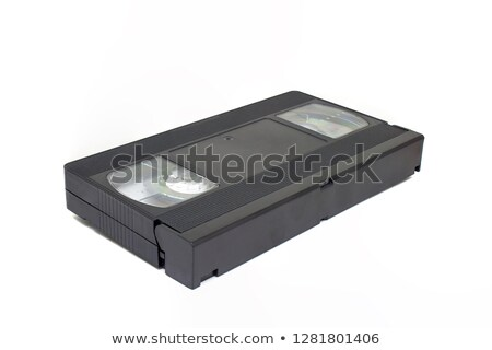 Video home system movie cassette Stock photo © ShawnHempel