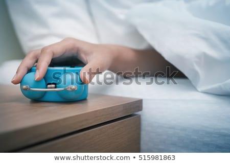 成熟した女性 ベッド 肖像 魅力的な ストックフォト © roboriginal