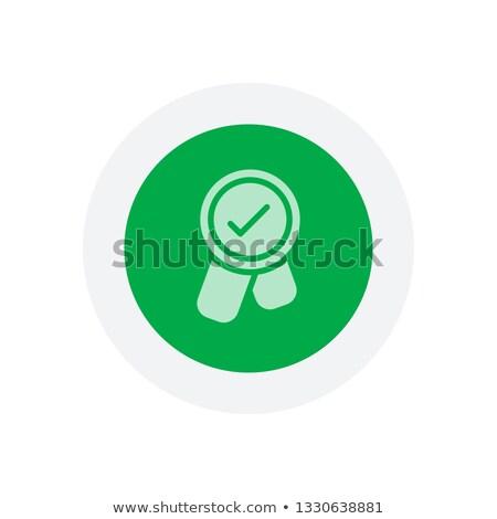 бонус желтый вектора икона кнопки дизайна Сток-фото © rizwanali3d