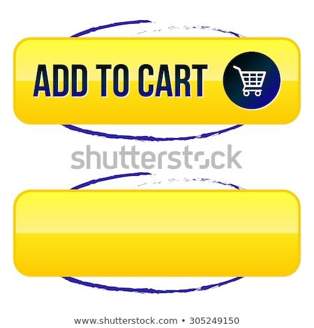 Most citromsárga vektor ikon terv digitális Stock fotó © rizwanali3d