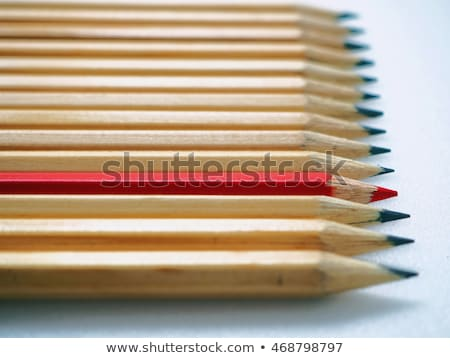 Being different concept with wood pencils on desk Stock photo © stevanovicigor