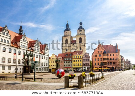 Wittenberg old town hall Stock photo © LianeM