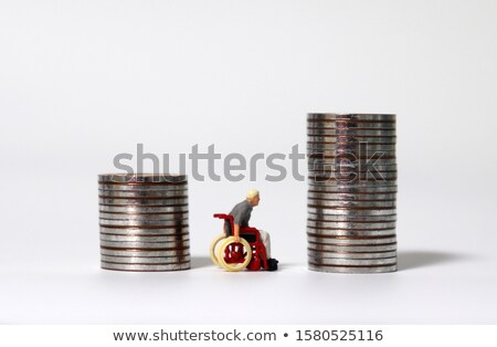 Stock photo: Different wheelchairs