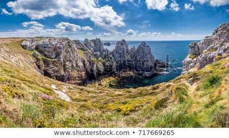 Península cenário água mar oceano Foto stock © prill