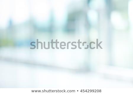 抽象的な · 光 · ぼかし · テンプレート · 現代 · 青 - ストックフォト © cienpies