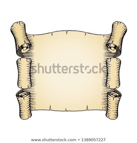 klasszikus · pergamen · kép · művészet · irat · grafikus - stock fotó © cidepix