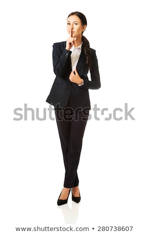 Young pretty businesswoman Stock photo © gravityimaging