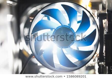 синий процессор компьютер процессор белый Сток-фото © BrandonSeidel