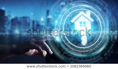 klavye · mavi · anahtar · satın · almak · pc · sıcak - stok fotoğraf © tashatuvango