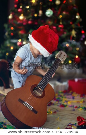 Young boy opening presents Stock photo © IS2
