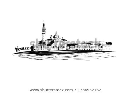 san giorgio island venice italy stock photo © neirfy