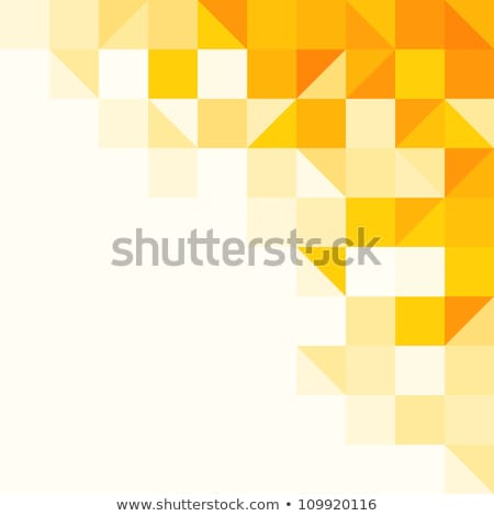 Vettore oro luminoso triangolo forme Foto d'archivio © fresh_5265954