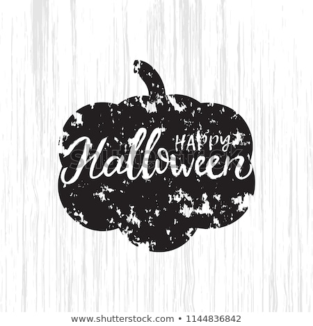 halloween party invitation or greeting card web design banner vector illustration stock photo © ikopylov