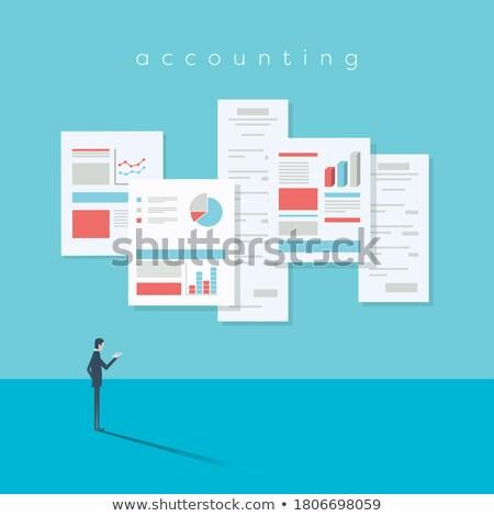 durum · belgeler · eps · 10 · iş · çalışmak - stok fotoğraf © robuart