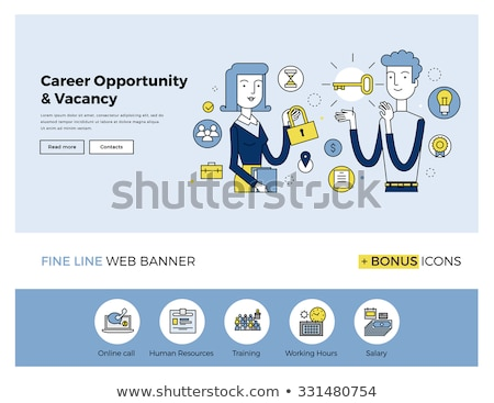 Key to success concept banner header. Stock photo © RAStudio