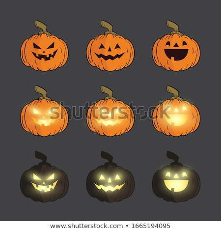 Creepy Halloween Pumpkin Stock photo © Lightsource