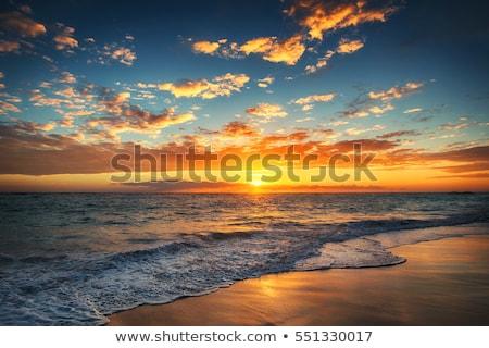 plaj · Hırvatistan · su · sokak · deniz - stok fotoğraf © x-etra