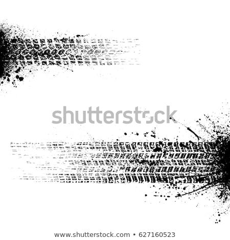 Stockfoto: Ingesteld · grunge · band · textuur · auto · motorfiets