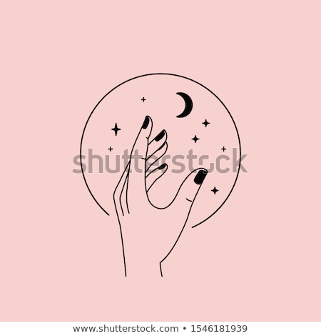 Illustration of a handmade  hands Stock photo © Olena