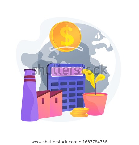 Industrial plant investment vector concept metaphor Stock photo © RAStudio