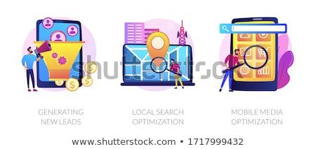 Marketing instruments vector concept metaphors Stock photo © RAStudio