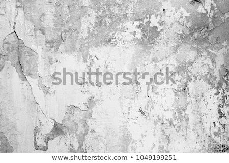 Estuco edad pared primer plano fragmento capeado Foto stock © IMaster