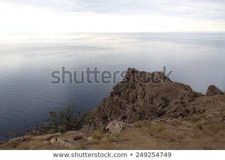 Alchak cape and Meganom cape. Black sea. Crimea. Ukraine Stock photo © digitalr