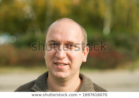регулярный парень улыбаясь красивый улыбка человека Сток-фото © lisafx