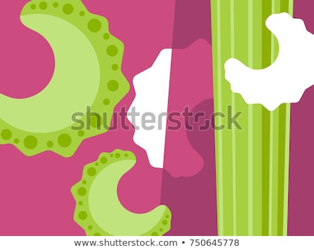 abstract celery background Stock photo © prill