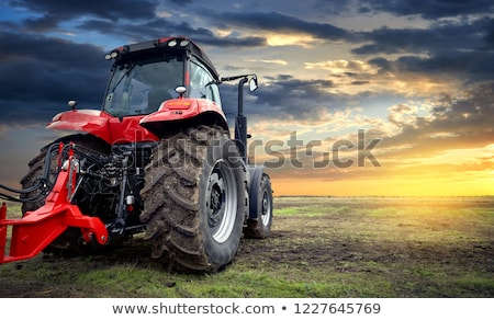 agricultural machine on rural road stock photo © simply