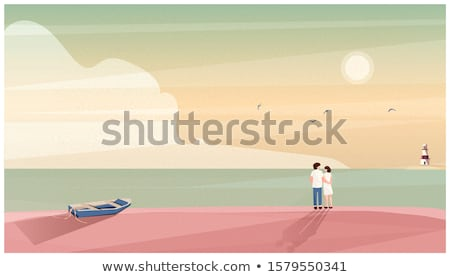 Seaside Vacation Stock photo © lisafx