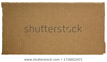 piece of corrugated cardboard stock photo © witthaya