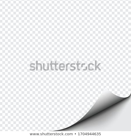 Page of paper curling Stock photo © SSilver