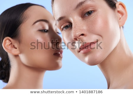 美しい 皮膚 肖像 自然の美 ストックフォト © aetb